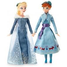 Игровой набор Кукол Принцессы Анна и Эльза Приключение Олафа 30 см - Disney Frozen, Anna & Elza Olaf's Adventure