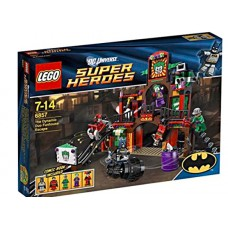 """LEGO Super Heroes 6857 The Dynamic Duo Funhouse Escape Побег Бэтмена и Робина из """"комнаты смеха"""""""
