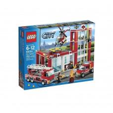 LEGO CITY 60004 Fire Station Пожарная часть