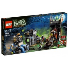 LEGO Monster Fighters 9466 The Crazy Scientist & His Monster Безумный профессор и его монстр