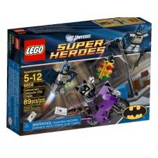 LEGO Super Heroes 6858 Catwoman Catcycle City Chase Погоня за женщиной кошкой