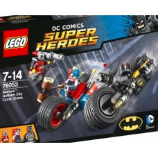 LEGO Super Heroes 76053 Gotham City Cycle Chase Бэтмен: Погоня на мотоциклах по Готэм-сити