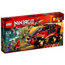 LEGO NINJAGO 70750 Ninja DB X Мобильная база Ниндзя