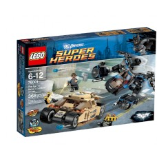 LEGO Super Heroes 76001 The Bat vs. Bane : Tumbler Chase Бэтмен против Бейна