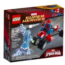 LEGO Super Heroes 76014 Spider-Trike vs. Electro Спайдер-Трайк против Электро