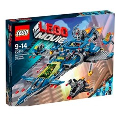 LEGO THE LEGO MOVIE 70816 Benny's Spaceship, Spaceship, SPACESHIP! Космический корабль Бенни