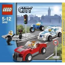 LEGO CITY 3648 Police Chase Полицейская погоня