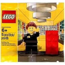 LEGO Minifigure 5001622 LEGO Store Employee Работник магазина LEGO
