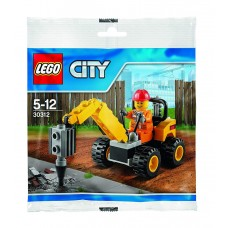 LEGO CITY 30312 Demolition Driller Бурильщик