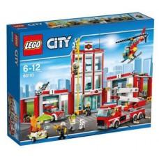 LEGO CITY 60110 Fire Station Пожарная часть