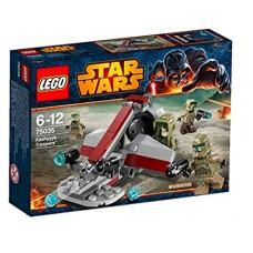 LEGO Star Wars 75035 Kashyyyk Troopers Воины Кашиик 47554-10 tf-786649255