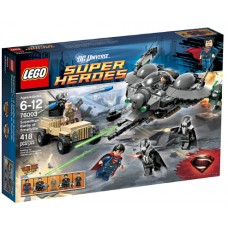 LEGO Super Heroes 76003 Superman: Battle of Smallville Битва за Смолвиль
