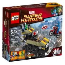 LEGO Super Heroes 76017 Avengers: Captain America vs. Hydra Капитан Америка против Гидры