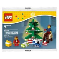 LEGO CREATOR 40058 Decorating the Tree Украшение ёлки