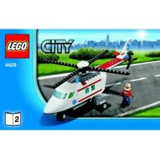 LEGO CITY 4429 Helicopter Rescue Вертолет-спасатель