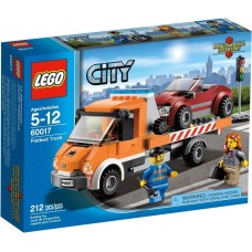 LEGO CITY 60017 Flatbed Truck Эвакуатор