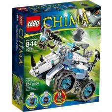 LEGO Legends of Chima 70131 Rogon's Rock Flinger Камнеметная машина Рогона