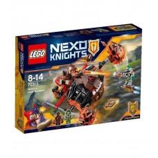 LEGO Nexo Knights 70313 Moltor's Lava Smasher Лавинный разрушитель Молтора