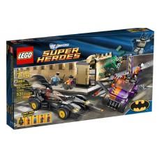 LEGO Super Heroes 6864 The Batmobile and the Two-Face Chase Бэтмобиль и преследование Двуликого