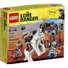LEGO The Lone Ranger 79106 Cavalry Builder Set Укрепление кавалеристов