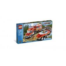 LEGO CITY 4430 Fire Transporter Передвижной пожарный командный центр Пожарный транспортировщик