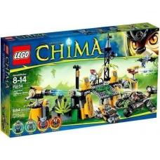 LEGO Legends of Chima 70134 Lavertus' Outland Base Отдалённая база Лавертуса