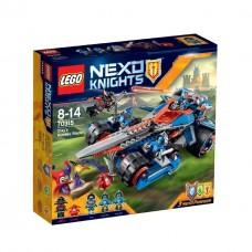 LEGO Nexo Knights 70315 Clay's Rumble Blade Устрашающий разрушитель Клэя