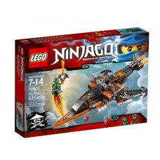 LEGO NINJAGO 70601 Sky Shark Небесная акула