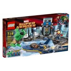 LEGO Super Heroes 6868 Hulk's Helicarrier Breakout Побег Халка