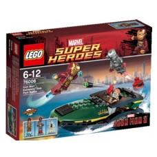 LEGO Super Heroes 76006 Iron Man: Extremis Sea Port Battle Битва в морском порту