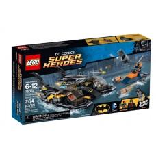 LEGO Super Heroes 76034 The Batboat Harbor Pursuit Погоня в бухте на Бэткатере