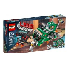 LEGO THE LEGO MOVIE 70805 Trash Chomper Самолёт-мусоровоз
