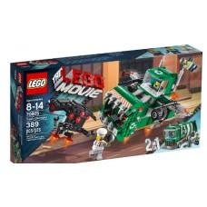 LEGO THE LEGO MOVIE 70805 Trash Chomper Самолёт-мусоровоз