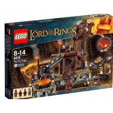 LEGO THE LORD OF THE RINGS 9476 The Orc Forge Кузница орков