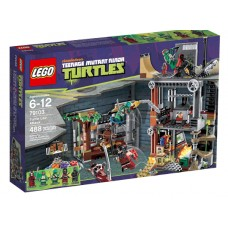 LEGO Teenage Mutant Ninja Turtles 79103 Turtle Lair Attack Атака на логово черепашек