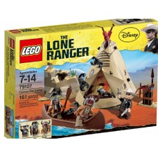 LEGO The Lone Ranger 79107 Comanche Camp Лагерь команчей