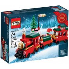 LEGO CREATOR 40138 Holiday Train Эксклюзив Праздничный Поезд
