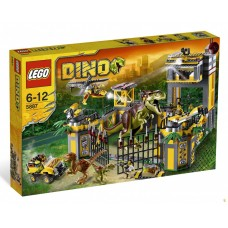 LEGO DINO 5887 Dino Defense HQ Штаб-квартира защиты динозавров