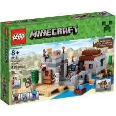 LEGO Minecraft 21121 The Desert Outpost Пустынная станция