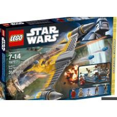 LEGO Star Wars 7877 Naboo Starfighter Звёздный истребитель Набу