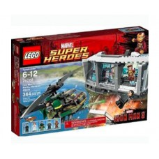 LEGO Super Heroes 76007 Iron Man: Malibu Mansion Attack Нападение на особняк в Малибу