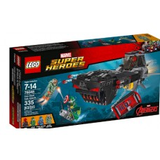 LEGO Super Heroes 76048 Iron Skull Sub Attack Похищение Капитана Америка ( Подводная атака Железного Черепа)