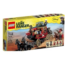 LEGO The Lone Ranger 79108 Stagecoach Escape Побег на дилижансе