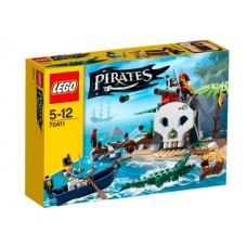 LEGO Pirates 70411 Treasure Island Остров сокровищ