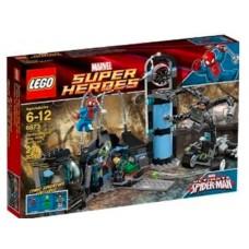 LEGO Super Heroes 6873 Spider-Man's Doc Ock Ambush Засада Человека-паука на Доктора Осьминога