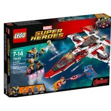 LEGO Super Heroes 76049 Avenjet Space Mission Реактивный самолёт Мстителей: космическая миссия