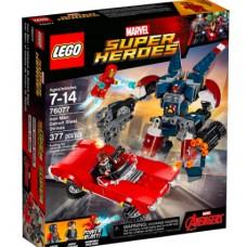 LEGO Super Heroes 76077 Iron Man: Detroit Steel Strikes Железный человек: Стальной Детройт наносит удар