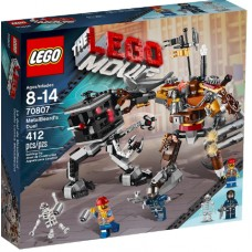 LEGO THE LEGO MOVIE 70807 MetalBeard's Duel Поединок Механоидов
