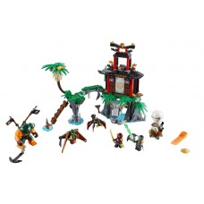 LEGO NINJAGO 70604 Tiger Widow Island Остров Тигриной вдовы