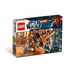 LEGO Star Wars 9491 Geonosian Cannon Джеонозианская пушка